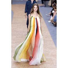 #fashion #2016ss #chloe #chloe2016 #straip #dress