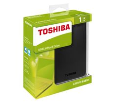 Buy Toshiba Canvio Basics 1TB USB 3.0 Portable Hard Drive at Argos.co.uk, visit Argos.co.uk to shop online for Hard drives, Hard drives, USBs and data storage, Laptops and PCs, Technology