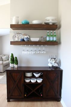Attrayant Weekend Recap. Dining Room ShelvesBar ...