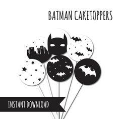 Batman Party Superhero Birthday Batman Cup by Petitestarsandclouds