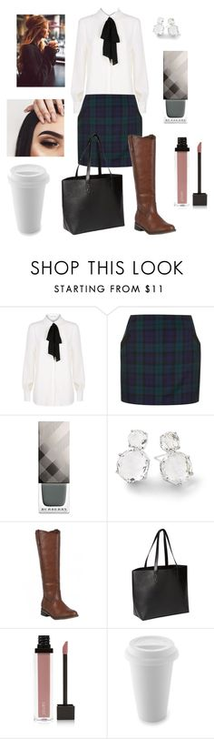 """""""February"""" by nicky-jane-neary on Polyvore featuring Claudie Pierlot, Topshop, Burberry, Ippolita, Old Navy and Jouer"""