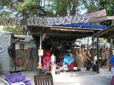 Blue Heaven - best overall restaurant in Key West, FL