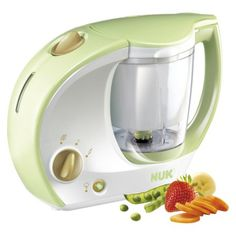 Cook-n-Blend Baby Food Maker- This is an amazing baby food maker with both smooth and chunky texture options to make food according to your little one's preference!