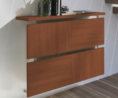 radiator-covers-ideas-wood-panels-brown-modern-design-wall-mounted-screen