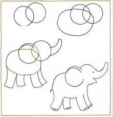 Tegninger - Elefant