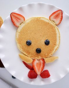 Adorable Fox If I liked strawberries!!