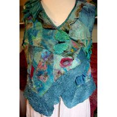 artisticartifacts.com Begins May 8: FanciFULL Mosaic Vest with Margo Duke (3-day class)