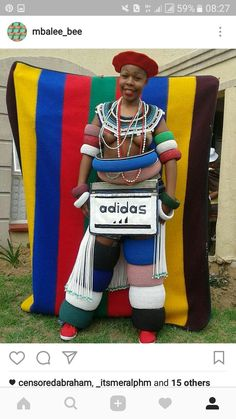 I am proudly a Ndebele Queen