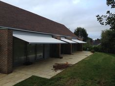 With the addition of a stylish awning above your patio or decking ...