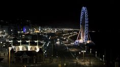 Brighton seafront cinemagraph Brighton and its famous ferris wheel at night with the cinemagraph treatment. © Dutourdumonde Photography