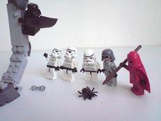 darth is afraid of spiders. don't be like darth. #starwars