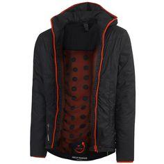 Helly Hansen H2Flow Insulator #HellyHansen #Black #Red #Style #Outdoor #Polyester #atmungsaktiv #Herbst #Winter #Arbeitsschutz #Style #EN14058