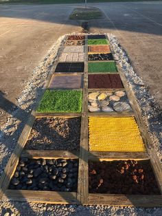 Myers' Kindergarten: Creating Our Barefoot Sensory Path an. - The Best Outdoor Play Area Ideas Outdoor Learning Spaces, Outdoor Play Spaces, Backyard Playground, Backyard For Kids, Backyard Ideas, Backyard Games, Sensory Pathways, Sensory Wall, Sensory Boards