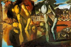 Salvador Dali: The metamorphosis of narcissus (1937)