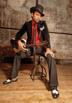 Manu Lanvin : Son(s) of the blues.