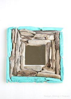 driftwood wall mirror (via designdininganddiapers)