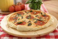Pizza à lenha sem lenha | Massas > Receitas de Pizza | Dulce Delight - Receitas Gshow