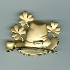 Signed Danecraft Lucky Irish Pin St. Patrick's Day #irish, #holidays, #pinsland, https://apps.facebook.com/yangutu