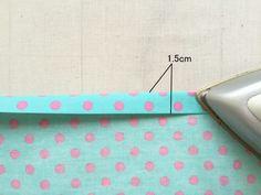 1.5センチ折る Sewing Techniques, Sunglasses Case, Handmade, Sewing, Hand Made, Craft