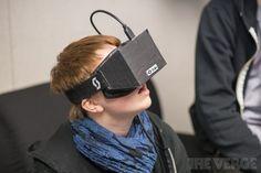 Oculus Rift virtual reality headset developer kit