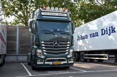 Mb Truck, Mercedes Benz Trucks, Mp5, Rigs, Euro, Vehicles, Instagram, Wedges, Car