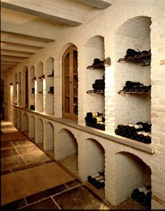 Beautiful Galley Wine Cellar
