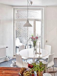 Boho Deco Chic: Ideas practicas y funcionales de un piso sueco