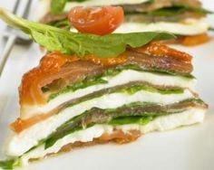 Lasagnes fraîches d'épinards et saumon fumé à la crème de fromage blanc : http://www.fourchette-et-bikini.fr/recettes/recettes-minceur/lasagnes-fraiches-depinards-et-saumon-fume-la-creme-de-fromage-blanc.html