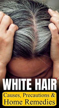 Get salon like dyed hair from the comfort of your home . – Get salon like dyed hair from the comfort of your own home! Causes Of White Hair, Remedy For White Hair, Grey Hair Remedies, Home Remedies For Hair, Grey Hair Don't Care, Diy Hair Care, Curly Hair Care, Hair Cure, Beauty Vitamins
