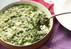 Creamed Spinach from The Food Lab/Serious Eats Spinach Recipes, Salad Recipes, Vegetarian Recipes, Cooking Recipes, Serious Eats, Comidas Lights, Food Lab, Creamed Spinach, Spinach Gratin