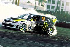 Ken Block Drifting in Subaru WRX STi