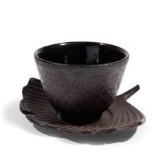 Tasse et soucoupe thé Gingko
