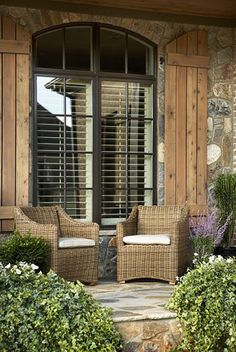1000 Ideas About Outdoor Window Shutters On Pinterest