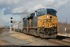 Photo: CSXT 741 CSX Transportation (CSXT) GE ES44AC at Toledo, Ohio by Michael Harding. RailPictures.Net