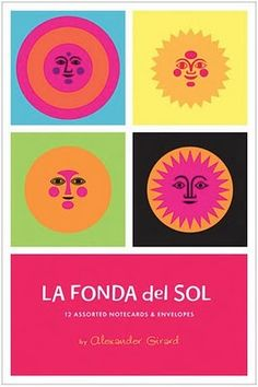Fonda del Sol cards by Alexander Girard