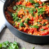 Go-To Spinach & Chickpea Curry
