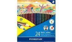 Staedtler Noris Colour Pencil Set (Pack of Large Toiletry Bag, Colored Pencils, Packing, Colour, Bags, Cute, Colouring Pencils, Bag Packaging, Color
