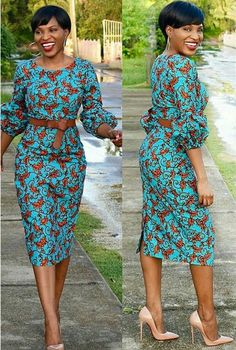 HelloToday we came up some mind-blowing new ankara wears for women. This styles are new to Ankara Fa Short African Dresses, Latest African Fashion Dresses, African Inspired Fashion, African Print Dresses, African Print Fashion, Africa Fashion, African Dress Patterns, Ankara Stil, Africa Dress