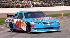 Dario Franchitti had a short run in Nascar, he drove the 40 car and was doing ok untill and Busch Race at Talladega took him out of the ride. He is also known for eating a Martinsville hotdog on camera after a crash at the track itself.