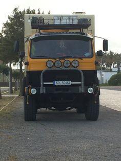 Merc 4x4 Lorry camper Cool Toys, 4x4, Camper, Cool Stuff, Vehicles, Caravan, Travel Trailers, Car, Motorhome