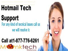 Toll Free Hotmail Tech Support Number for USA and Canada @1-877-776-6261 Hotmail Tech Support  is easily available for USA and Canada at 1-877-776-6261 (toll-free). By dialing this number, one can directly connect with Hotmail support team where a Hotmail technical engineer is available 24*7 to provide you instant Hotmail support. They take your problem seriously and solve your technical issue just in minutes. For more info visit us…