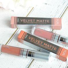 PÜR Velvet Matte Liquid Lipsticks