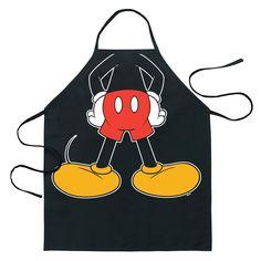 Mickey Apron Mickey Mouse House, Mickey Mouse Kitchen, Minnie Mouse, Disney Mickey Mouse, Casa Disney, Disney Home, Disney Diy, Cozinha Do Mickey Mouse, Disney Kitchen Decor