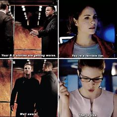 Oliver, Felicity, Diggle & Thea #Arrow