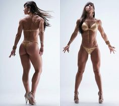 New favorite female body builder! Alice Motos... She keeps it real and simple. Check her out on simplyshredded.com