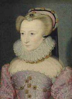 Jean Decourt (Limoges c. 1530–after 1585 Paris) Portrait of a lady, traditionally identified as Louise de Lorraine (1553-1601) with indistinct date '155[...]' (upper right) oil on panel 7 7/8 x 5 ¾ in. (20 x 14.5 cm.)
