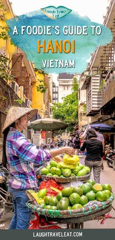 Hanoi has some delicious food to offer, and it's difficult for first time visitors to find the best food, so here is a Hanoi food guide! #Hanoi #Vietnam #vietnamesefood