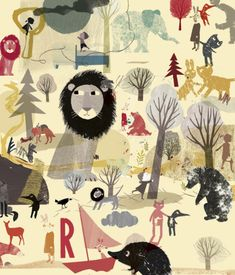 preliminary work for my new book 'before i wake up' (Prestel) out in spring 2016 - britta teckentrup