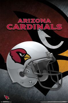 ARIZONA CARDINALS Official NFL Football Team Helmet LOGO WALL POSTER 37836497b