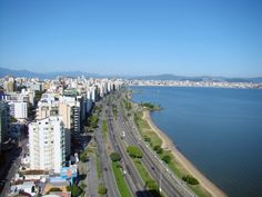 Beira Mar em Florianópolis-Santa Catarina-Brasil
